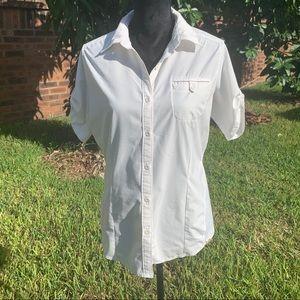 NorthFace Short Sleeve Button Down Shirt
